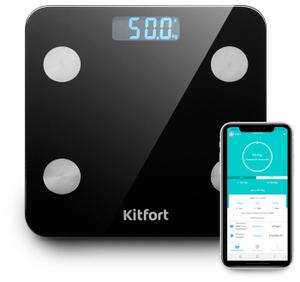 Весы напольные Kitfort КТ-805 черный