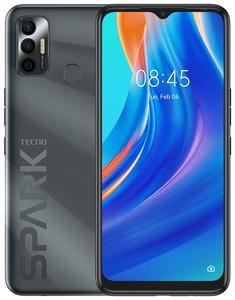 Смартфон TECNO Spark 7 32 Гб черный