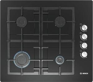 Газовая варочная панель Bosch POP6C6O92R черный