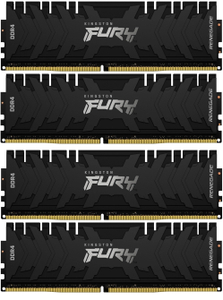 Оперативная память Kingston FURY Renegade [KF430C15RB1K4/64] 64 Гб DDR4