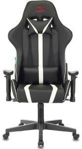 Кресло игровое Бюрократ Zombie A4 белый