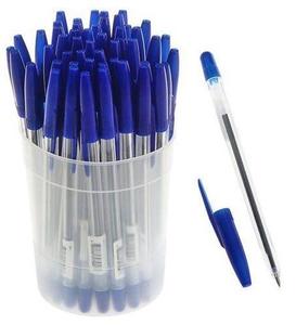 Ручка шариковая «Стамм» 111, узел 0.7 мм, чернила синие на масляной основе, стержень 135 мм