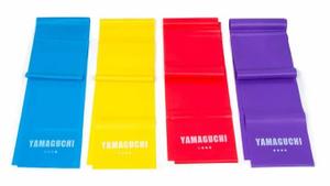 Набор из 4-х эластичных лент для фитнеса Yamaguchi Band FIT