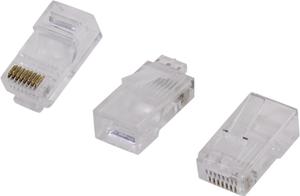 VCOM < VNA2200 > RJ-45 Коннектор (уп-ка 20шт.)