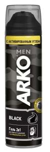 Гель для бритья и умывания 2в1 Black ARKO