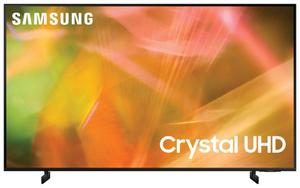 """Телевизор Samsung UE43AU8040UXRU 43"""" (108 см) черный"""