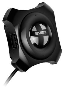 USB хаб Sven HB-432 Black