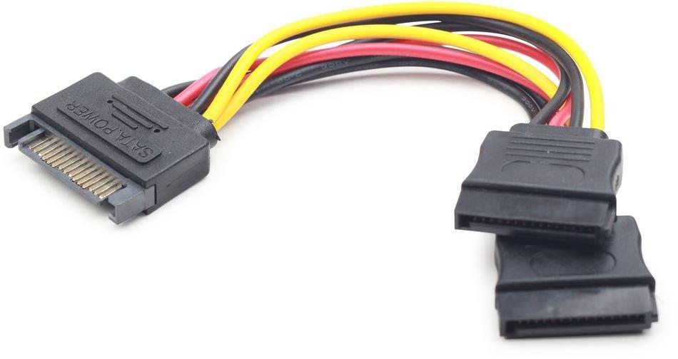 Переходник Gembird Cablexpert [CC-SATAM2F-01] SATA 15pin (m) - 2 x SATA 15pin (f)