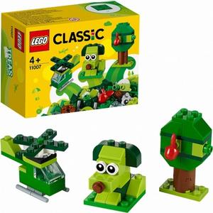 Конструктор lego classic зеленый набор для конструирования 11007