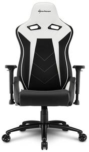 Кресло игровое Sharkoon Elbrus 3 белый