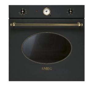 Духовой шкаф SMEG SF800AO черный