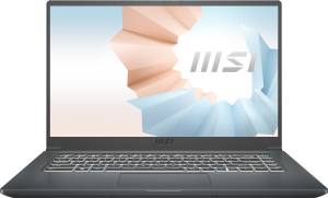 Ноутбук MSI Modern 15 A4M-020XRU (9S7-155K26-020) серый
