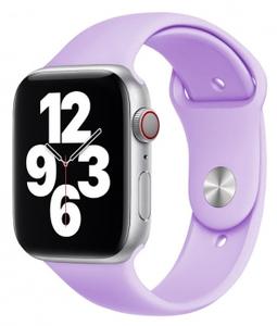 Ремешок силиконовый «vlp» Silicone Band для Apple Watch 38/40 мм, фиолетовый