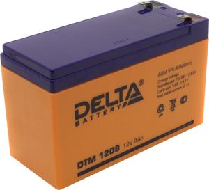Аккумулятор Delta DTM 1209 (12V, 8.5Ah) для UPS