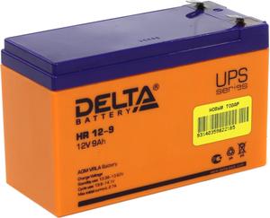 Аккумулятор Delta HR 12-9 (12V, 9Ah) для UPS