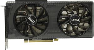 Видеокарта Palit GeForce RTX 3060 Ti Dual 8 Гб