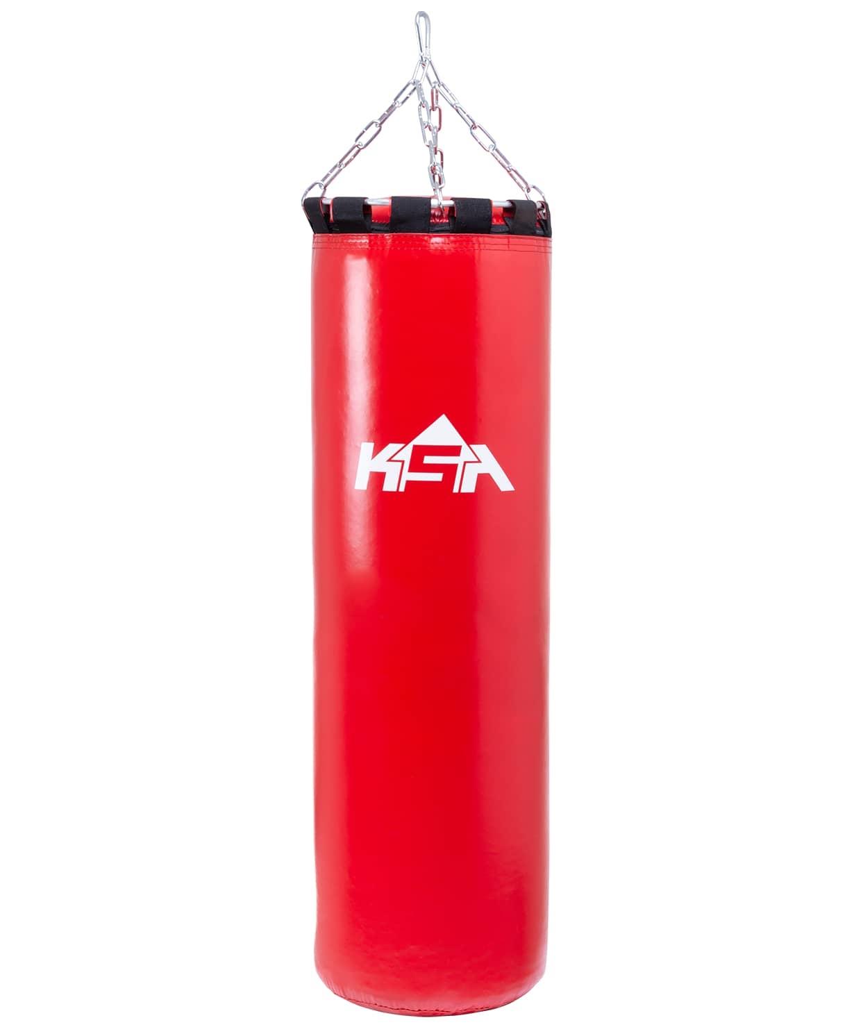 Мешок боксерский PB-01, 120 см, 55 кг, тент, красный