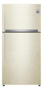 Холодильник LG GR-H802HEHZ бежевый