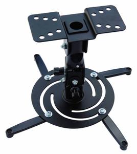 Кронштейн для проектора Cactus CS-VM-PR04-BK черный макс.10кг настенный и потолочный поворот и наклон