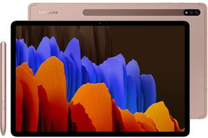 "Планшет Samsung Galaxy Tab S7+ 12,4"" 128 Гб бронзовый"