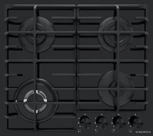 Газовая варочная панель MAUNFELD EGHE.64.63CB2/G черный