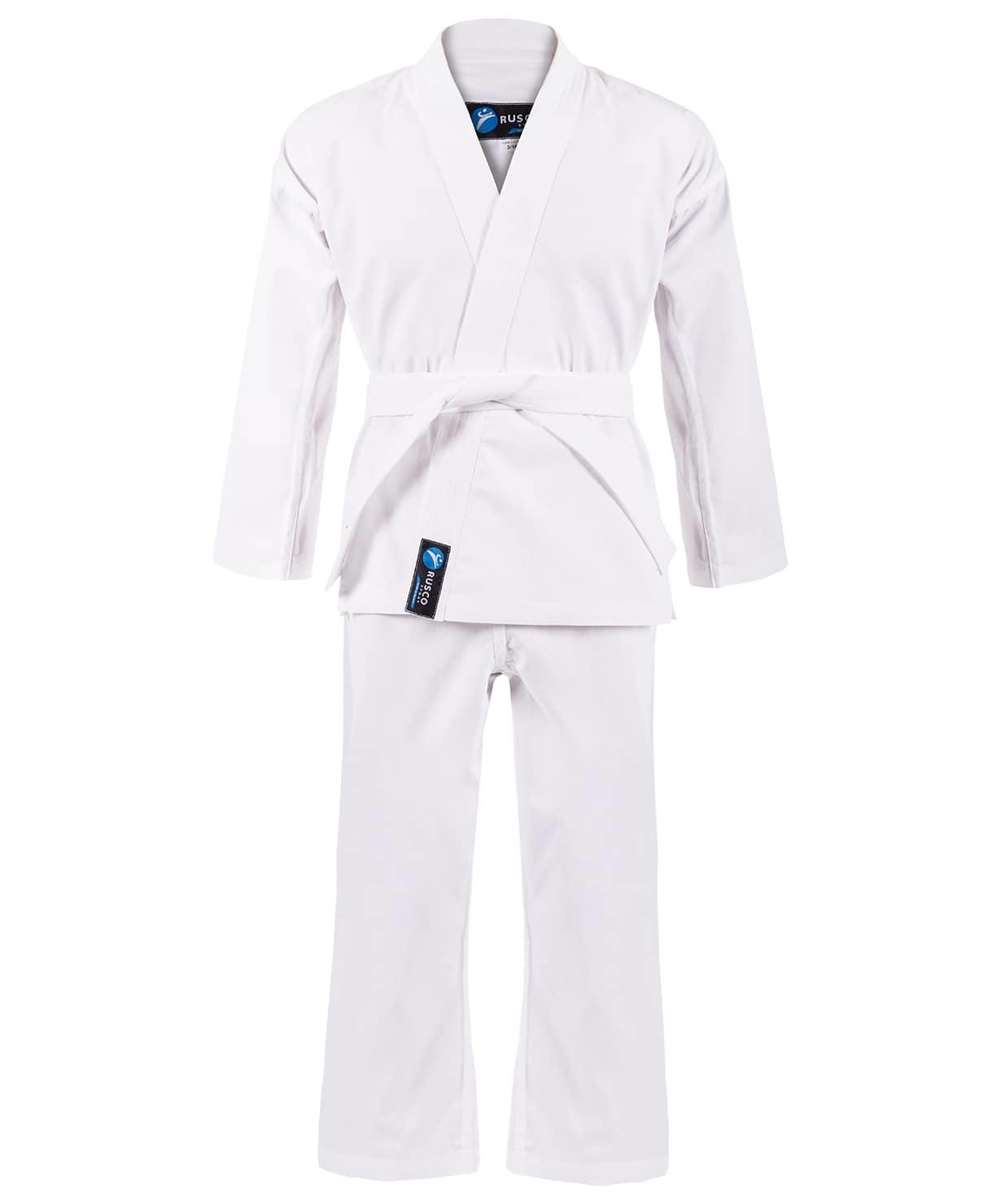 Кимоно для карате для начинающих, белый, р.000/110