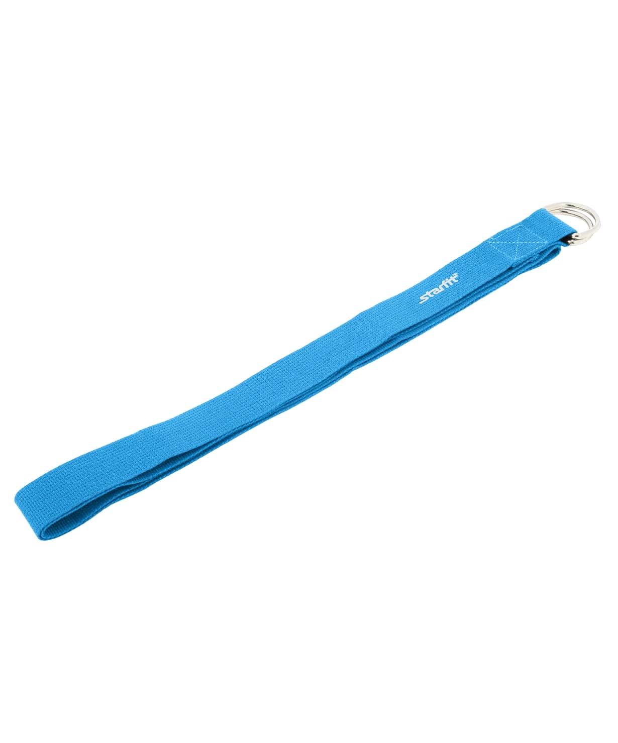 Ремень для йоги FA-103, синий