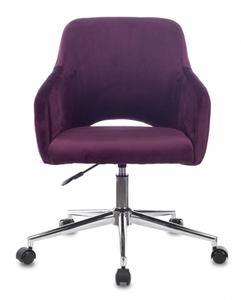 Кресло игровое Бюрократ CH-380S фиолетовый