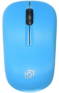 Мышь беспроводная Oklick 525MW голубой