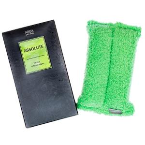"""Губка """"Инволвер"""" зеленая для удаления стойких загрязнений, 15 х 7 см AQUAMAGIC ABSOLUTE"""