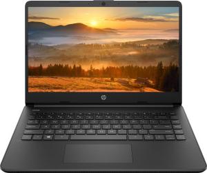 Ноутбук HP 14s-fq0022ur (22M90EA) черный