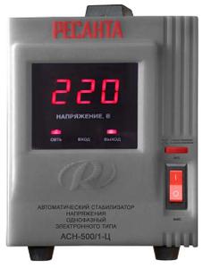 Стабилизатор сетевой Ресанта  АСН 500/1-Ц (500Вт, цифровой)