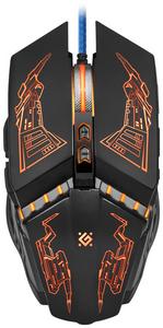 Мышь проводная Defender Halo Z GM-430L черный