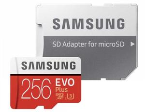 Карта памяти Samsung EVO Plus <MB-MC256HA/RU> 256 Гб