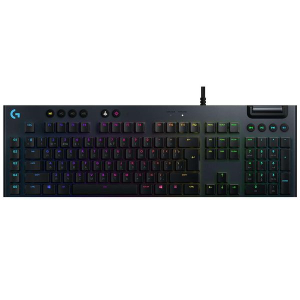 Клавиатура проводная Logitech G815 LIGHTSYNC RGB GL Tactile черный