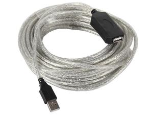 Кабель удлинительный VCOM VUS7049-15м USB Type A (m) - USB Type A (f)
