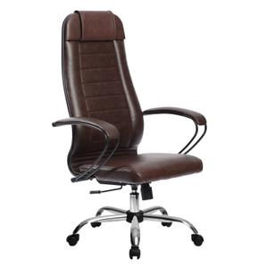 Кресло офисное Метта Комплект 28 (БЕЗ ОСНОВАНИЯ) коричневый