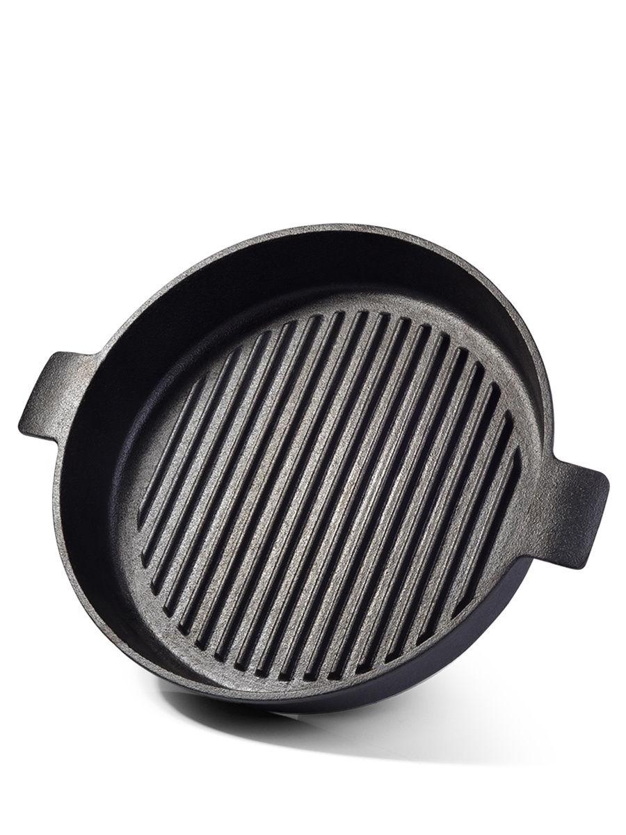 4072 Сковорода-гриль 26x5,5см (чугун)