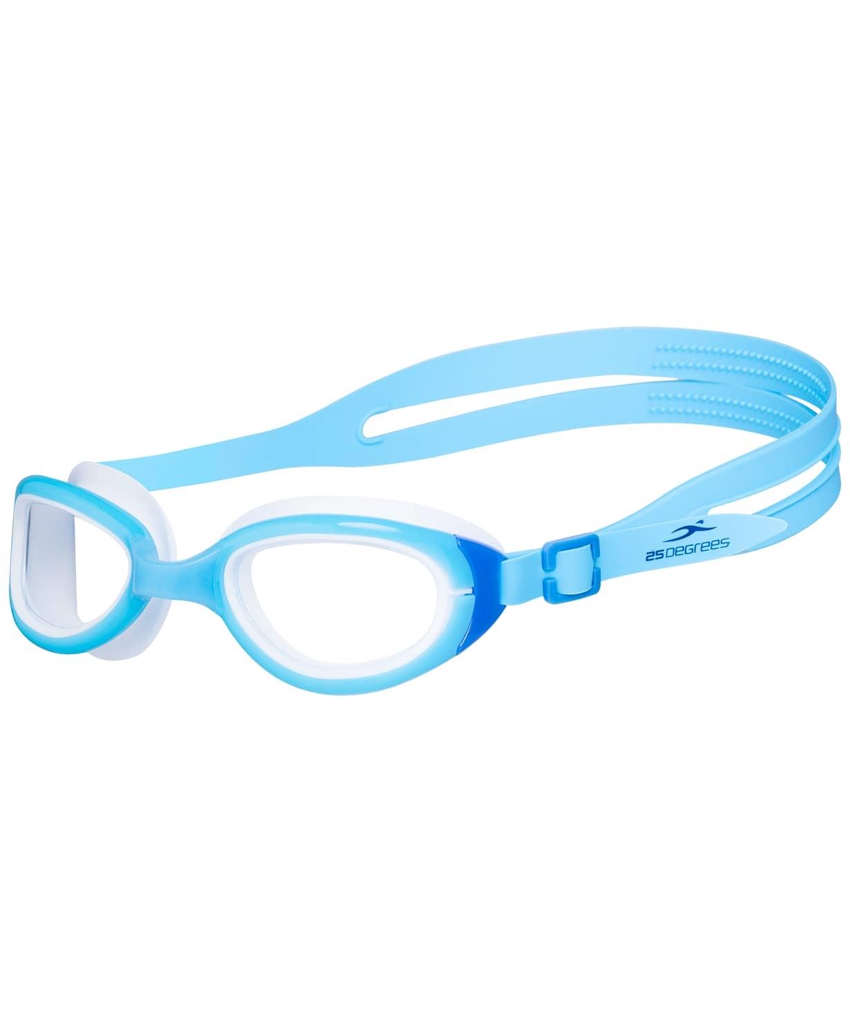 Очки для плавания Friggo Light Blue/White, подростковые