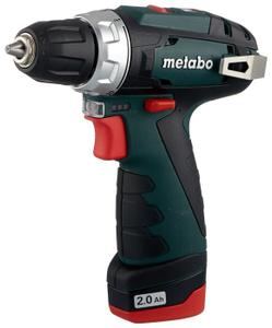 Дрель-шуруповерт Metabo PowerMaxx BS 10.8В 2х2.0 LC40 600080500