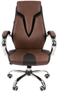 Кресло для руководителя Chairman 901 коричневый