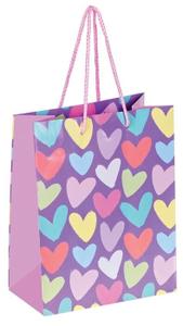 """Пакет подарочный 18*23*10см ArtSpace """"With love"""", ламинированный"""
