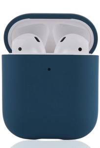 Чехол защитный «vlp» Plastic Case для AirPods, темно-синий