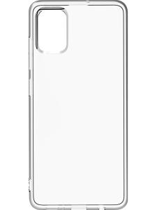 Накладка силиконовая Breaking для Samsung A51 (Прозрачный)