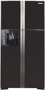 Холодильник Hitachi R-W 722 FPU1X GGR черный