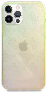 Чехол накладка Guess для Apple iPhone 12 Pro Max прозрачный