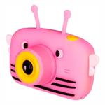 Детская цифровая камера в форме пчелки розовая