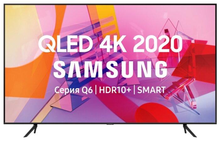 "Телевизор Samsung QE75Q60TAUXRU Q 75"" (191 см) черный"