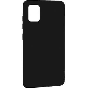 Накладка силиконовая Breaking для Samsung A51 (Черный)