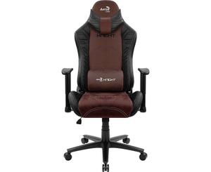 Кресло игровое AeroCool KNIGHT Burgundy Red бордовый